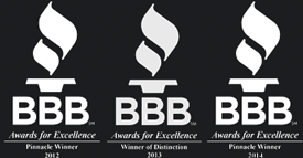 BBB Awards for Environmental ProTech - Houston, TX