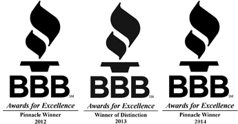 bbb AWARDS - Environmental ProTech - Houston, TX